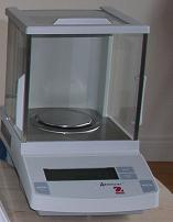 Scales for automatic calcimeter