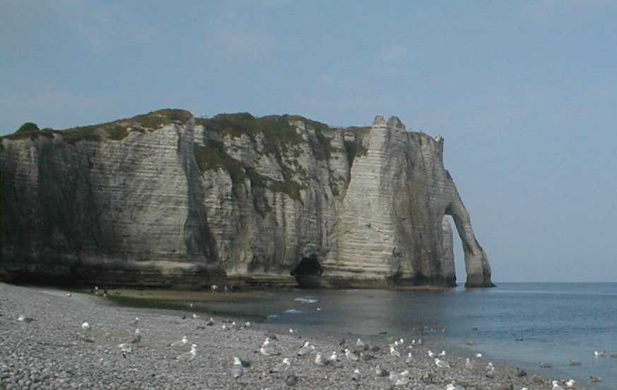 Sedimentology: the study of the alteration and degradation of a cliff